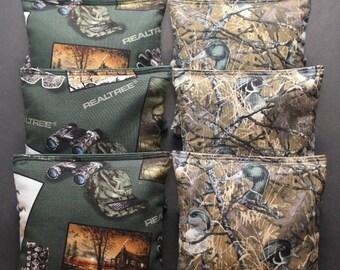REALTREE Duck Hunting Cornhole Bean Bags 8 ACA Regulation Corn Hole Bags