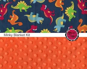 Custom Dinosaur blanket