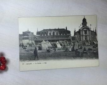 WWI Soldier Souvenir Calais, France Casino