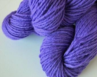 Pure Wool Reclaimed Yarn - Purple