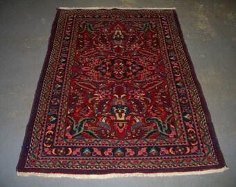 Persian Rug - 1970s Vintage Lilihan Rug (3235)