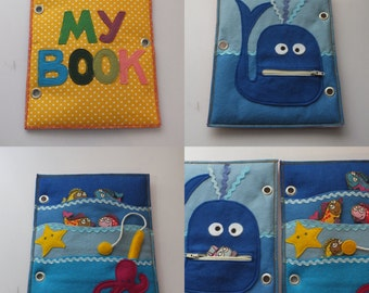 Quet Book-Activity Book-Busy Book-Felt book