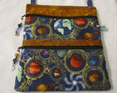 Planet purse/crossbody