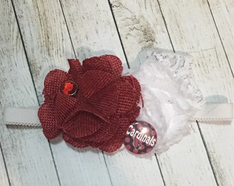AZ Cardinals inspired headband