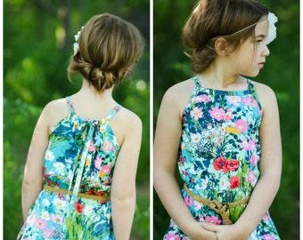 Lillian Romper & Dress PDF Sewing Pattern 1/2- 14
