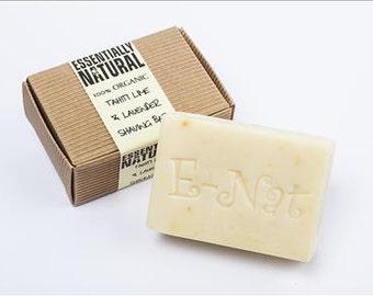 100% Organic Shaving Soap