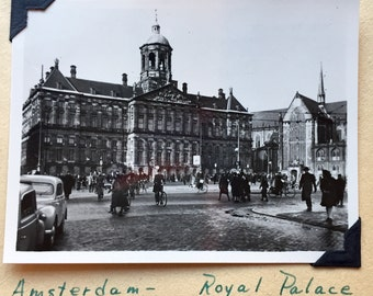 Vintage Amsterdam Scrap Book / Photo Album