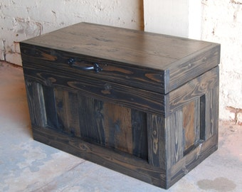 Hope Chest / Coffee Table/ End Table/ Toy Box/ Small Trunk/ Reclaimed Wood