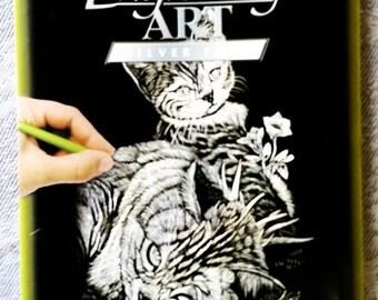 NOW ON SALE -- Kitten Foil Art Engraving Kit