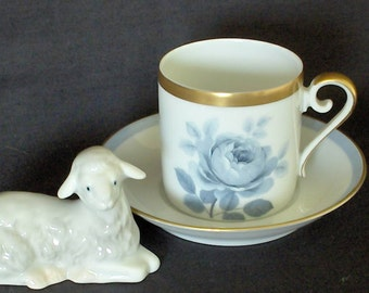 HACKEFERS PORSLIN DEMITASSE Cup Made in Sweden  Sip your Turkish coffee or espresso in this dainty demitasse cup