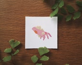 Flora and Rot Mini Vinyl Sticker - Succulents