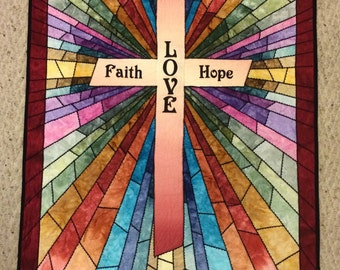 Rays of Hope - Stained Glass