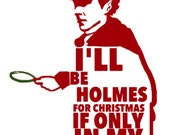 Sherlock Holmes for Christmas cards (8 pack)
