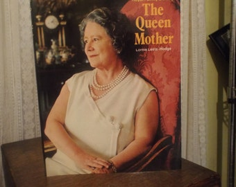 Vintage Book The Queen Mother Royal Family Library