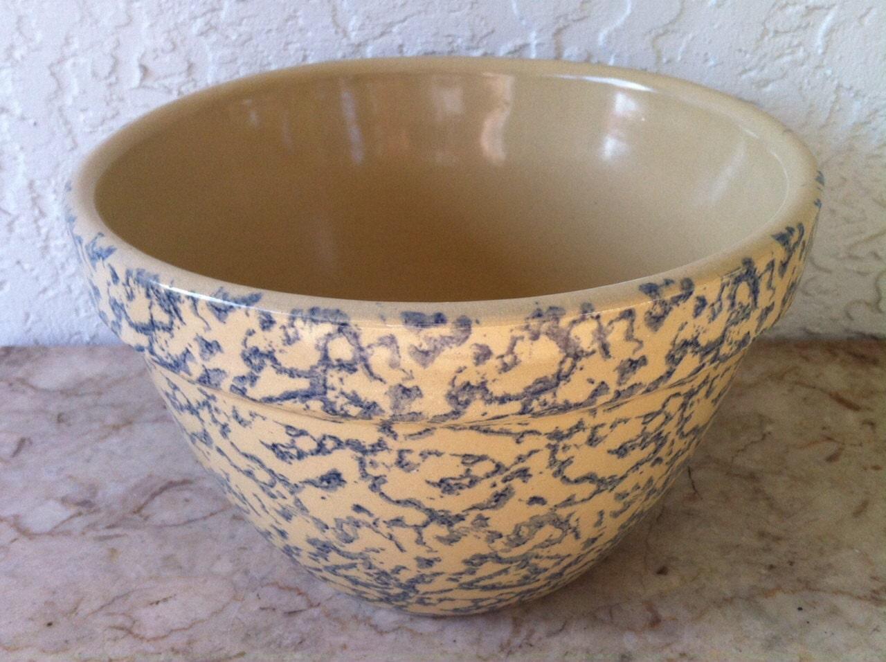 Vintage Kitchen Bowl Pottery Mixing Bowl Rrp Amp Co Robinson
