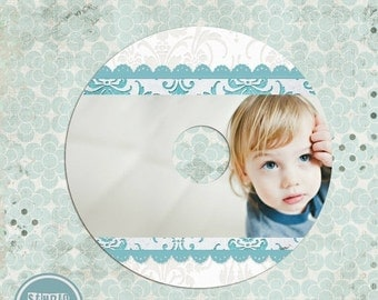 ON SALE CD/ Dvd Label Template - Mother's Day  template - Psd template - Instant download