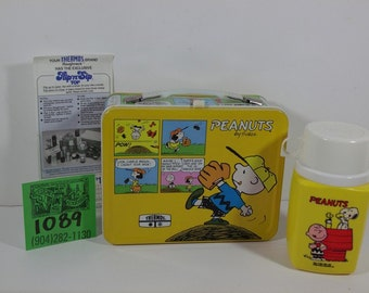 1970's Peanuts Lunchbox and Thermos