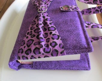 Purple Bible Cover, Bible Tote