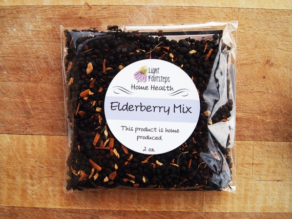 Elderberry Syrup Mix - DIY Elderberry Syrup Kit with Ginger & Cinnamon