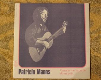 Patricio Manns | Cuando me acuerdo de me pais