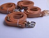 1pcs 43''-49'' PU Camel Leather Adjustable Purses Straps,Adjustable Purse straps Replacement Cross Body Purse Strap,Soft leather straps