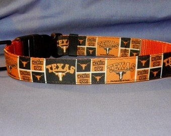 Texas Longhorns collar
