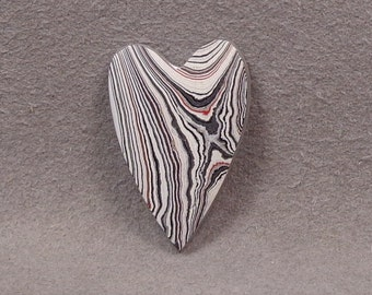 FORDITE Heart Shaped Cabochon
