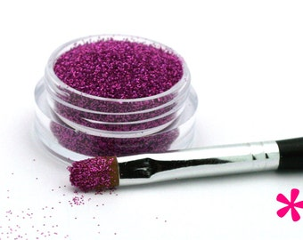 ORCHID PURPLE Cosmetic Glitter for Makeup, Eye Shadow, Lips, Nail Polish, Body Shimmer & Hair Sparkle (C015)