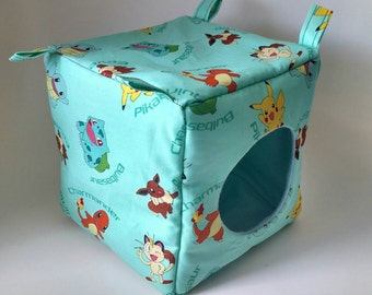 Pokemon Aqua Cube!  Perfect for any of your small critters!  Guinea Pigs, Ferrets, Rats, Hedgehogs, Chinchillas!  READY TO SHIP!