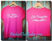 Mother/Daughter Shirts! Like Mother Like Daughter / Mommy Daughter Shirts
