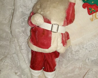 Santa Figure Doll Midcentury Tall