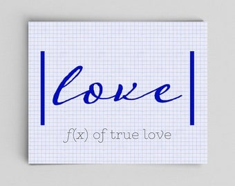 Nerdy Love Gifts Nerdy Anniversary Geekery Wedding Gifts Mathematics Poster Funny Love Gifts for Teachers Science Art Math Teacher Gifts
