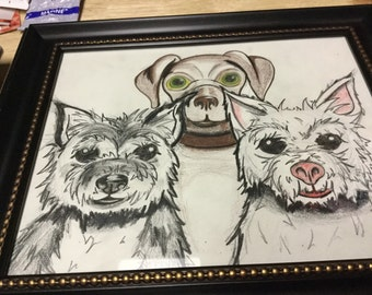 Caricatures of your pet by Jason Arbeau