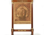 French Empire Mahogany Firescreen with Gilt Bronze Mounts Circa 1810-20, 1402KRP28-P