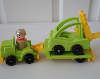 Fisher Price Lift and Load Construction Vehicles