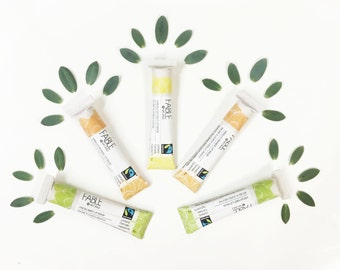 Organic - Natural lip balm - Compostable - Lip balm gift set - Spa gift