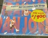 Vintage Michael Jordan Chicago Bulls Basketball Gift Wrap