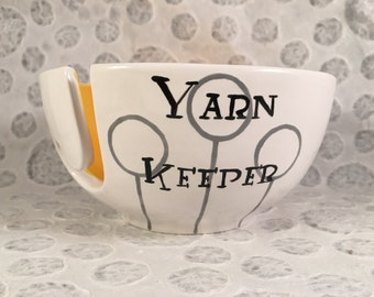 Harry Potter Inspired Quidditch Yarn Bowl