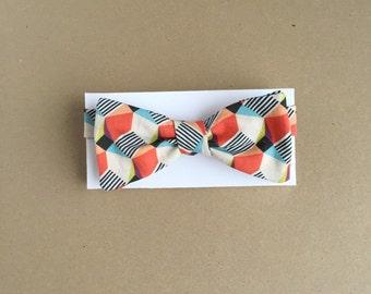 Bold Geometric Shapes Artist Series Bow Tie