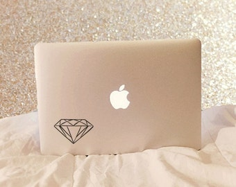 Diamond, Laptop Stickers, Laptop Decal, Macbook Decal, Car Decal, Vinyl Decal