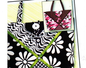 EZ Bag Essentials Fabri-licously Delicious!  Purse Pattern in New Condition Tiger Lily Press