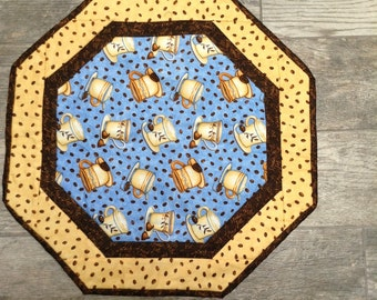 Coffee table topper
