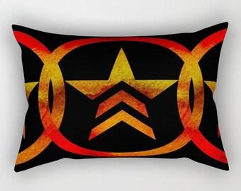 Mass Effect Renegade Rectangular Pillow with Insert