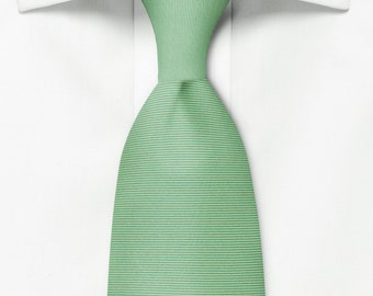 Grass Green Silk Tie