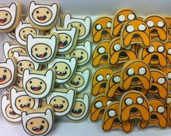 Mid size adventure time Cookies