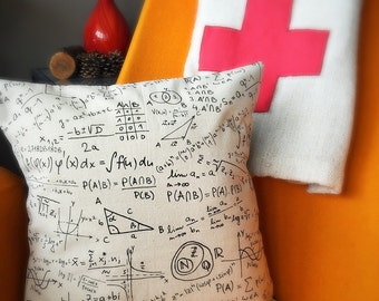 Science, Math, Physics, Oh My! Pillow Case