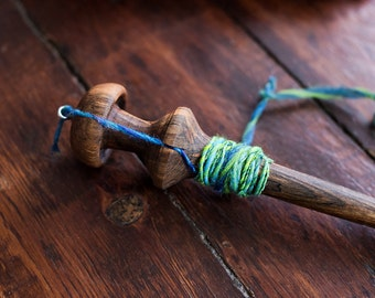 Drop Tibetan Spindle, Top Whorl Spindle, Handmade Spindle, Spinning, Fiber Arts, Knitting, Crochet