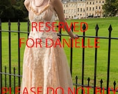 Adalia Beautiful Vintage Faery Vintage Style Fairytale tattered Mid length Gypsy Dress