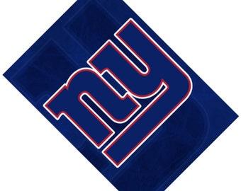Passport Cover Case Holder -- New York Giants
