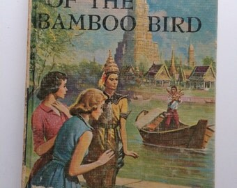 Vintage Nancy Drew Book The Mystery of The Bamboo Bird - Young Adult Mystery Carolyn Keene #22